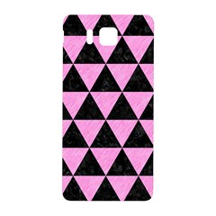 Triangle3 Black Marble & Pink Colored Pencil Samsung Galaxy Alpha Hardshell Back Case by trendistuff