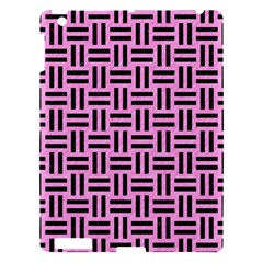 Woven1 Black Marble & Pink Colored Pencil Apple Ipad 3/4 Hardshell Case by trendistuff