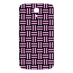 Woven1 Black Marble & Pink Colored Pencil (r) Samsung Galaxy Mega I9200 Hardshell Back Case by trendistuff