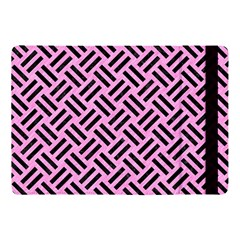 Woven2 Black Marble & Pink Colored Pencil Apple Ipad Pro 10 5   Flip Case by trendistuff