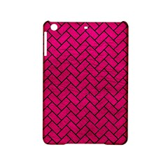 Brick2 Black Marble & Pink Leather Ipad Mini 2 Hardshell Cases by trendistuff