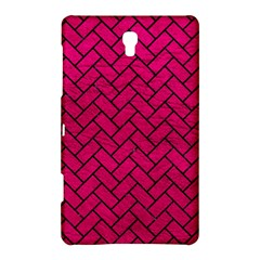 Brick2 Black Marble & Pink Leather Samsung Galaxy Tab S (8 4 ) Hardshell Case  by trendistuff
