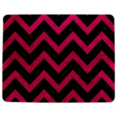 Chevron9 Black Marble & Pink Leather (r) Jigsaw Puzzle Photo Stand (rectangular) by trendistuff