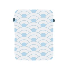 Blue,white,shell,pattern Apple Ipad 2/3/4 Protective Soft Cases by 8fugoso