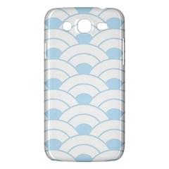 Blue,white,shell,pattern Samsung Galaxy Mega 5 8 I9152 Hardshell Case  by 8fugoso
