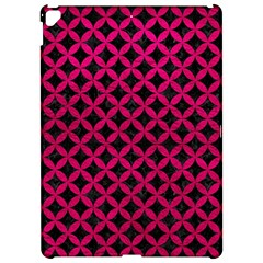 Circles3 Black Marble & Pink Leather (r) Apple Ipad Pro 12 9   Hardshell Case by trendistuff