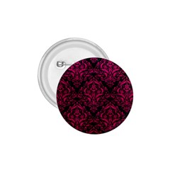 Damask1 Black Marble & Pink Leather (r) 1 75  Buttons by trendistuff