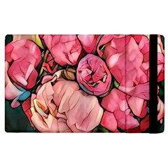 Beautiful Peonies Apple Ipad 3/4 Flip Case by 8fugoso