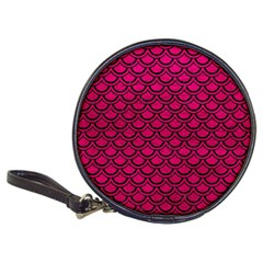 Scales2 Black Marble & Pink Leather Classic 20 Cd Wallets by trendistuff