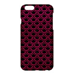 Scales2 Black Marble & Pink Leather (r) Apple Iphone 6 Plus/6s Plus Hardshell Case by trendistuff