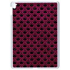 Scales2 Black Marble & Pink Leather (r) Apple Ipad Pro 9 7   White Seamless Case