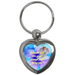Smile good en0ugh - Key Chain (Heart)