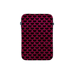 Scales3 Black Marble & Pink Leather (r) Apple Ipad Mini Protective Soft Cases by trendistuff