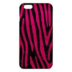 Skin4 Black Marble & Pink Leather Iphone 6 Plus/6s Plus Tpu Case by trendistuff
