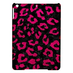 Skin5 Black Marble & Pink Leather Ipad Air Hardshell Cases by trendistuff