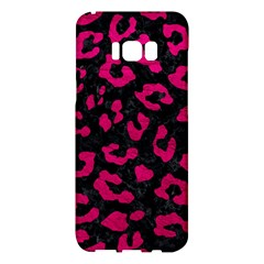 Skin5 Black Marble & Pink Leather Samsung Galaxy S8 Plus Hardshell Case  by trendistuff