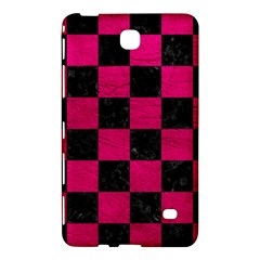 Square1 Black Marble & Pink Leather Samsung Galaxy Tab 4 (8 ) Hardshell Case  by trendistuff