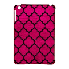 Tile1 Black Marble & Pink Leather Apple Ipad Mini Hardshell Case (compatible With Smart Cover) by trendistuff