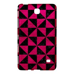 Triangle1 Black Marble & Pink Leather Samsung Galaxy Tab 4 (8 ) Hardshell Case  by trendistuff