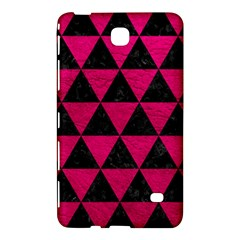 Triangle3 Black Marble & Pink Leather Samsung Galaxy Tab 4 (8 ) Hardshell Case  by trendistuff