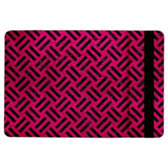 Woven2 Black Marble & Pink Leather Ipad Air 2 Flip by trendistuff
