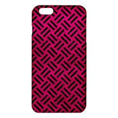 Woven2 Black Marble & Pink Leather Iphone 6 Plus/6s Plus Tpu Case by trendistuff