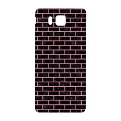 Brick1 Black Marble & Pink Watercolor (r) Samsung Galaxy Alpha Hardshell Back Case