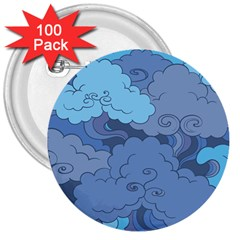 Abstract Nature 1 3  Buttons (100 Pack)  by tarastyle