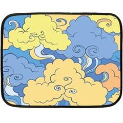 Abstract Nature 2 Fleece Blanket (mini) by tarastyle
