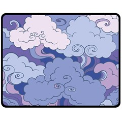 Abstract Nature 3 Double Sided Fleece Blanket (medium)  by tarastyle