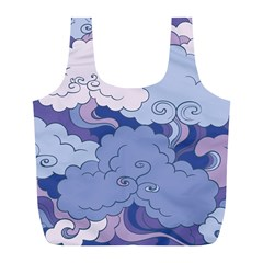 Abstract Nature 3 Full Print Recycle Bags (l)  by tarastyle