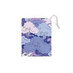Abstract Nature 3 Drawstring Pouches (xs)  by tarastyle