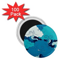 Abstract Nature 4 1 75  Magnets (100 Pack)  by tarastyle