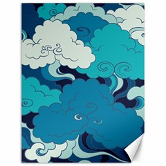 Abstract Nature 4 Canvas 12  X 16   by tarastyle