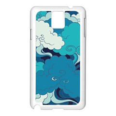Abstract Nature 4 Samsung Galaxy Note 3 N9005 Case (white) by tarastyle