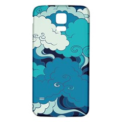 Abstract Nature 4 Samsung Galaxy S5 Back Case (white) by tarastyle
