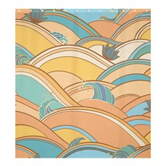 Abstract Nature 5 Shower Curtain 66  X 72  (large)  by tarastyle