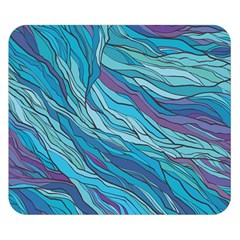Abstract Nature 6 Double Sided Flano Blanket (small)  by tarastyle
