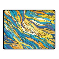 Abstract Nature 7 Double Sided Fleece Blanket (small)  by tarastyle