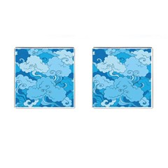 Abstract Nature 9 Cufflinks (square) by tarastyle