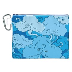 Abstract Nature 9 Canvas Cosmetic Bag (xxl) by tarastyle