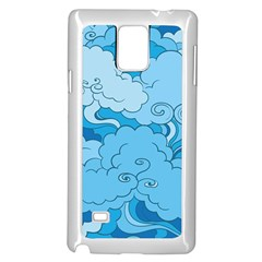 Abstract Nature 9 Samsung Galaxy Note 4 Case (white)