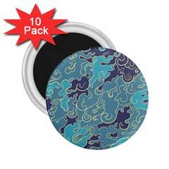 Abstract Nature 10 2 25  Magnets (10 Pack)  by tarastyle