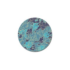 Abstract Nature 10 Golf Ball Marker (4 Pack) by tarastyle