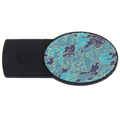 Abstract Nature 10 Usb Flash Drive Oval (4 Gb) by tarastyle