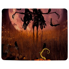 Halloween Design With Scarecrow, Crow And Pumpkin Jigsaw Puzzle Photo Stand (rectangular) by FantasyWorld7