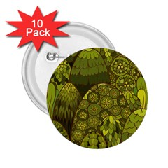 Abstract Nature 11 2 25  Buttons (10 Pack)  by tarastyle