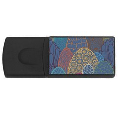Abstract Nature 13 Rectangular Usb Flash Drive by tarastyle