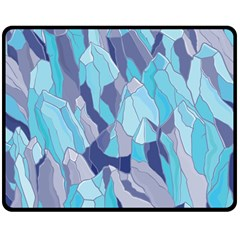 Abstract Nature 14 Double Sided Fleece Blanket (medium)  by tarastyle