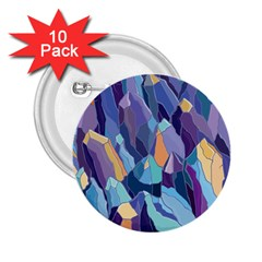 Abstract Nature 15 2 25  Buttons (10 Pack)  by tarastyle